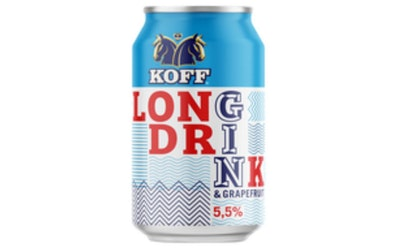 Koff Gin Long Drink 5,5% 0,33l