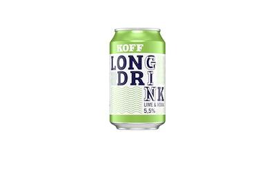 Koff Lime Long Drink 5,5% 0,33l tlk