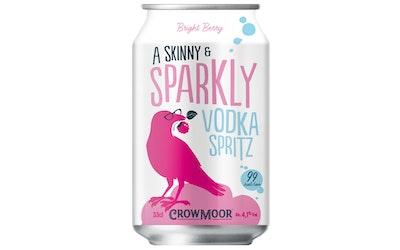 Crowmoor Vodka Spritz Bright Berry 4,1% 0,33l
