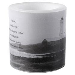 Muurla Mantra kynttilälyhty majakka 8cm