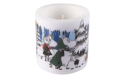 Muumi kynttilä Talvimetsä 8cm
