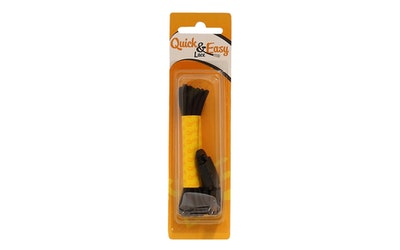 Quick&Easy pikalukkonauha 90cm musta