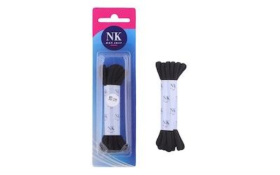 NK1917 Roundlace kengännauhat 90cm musta