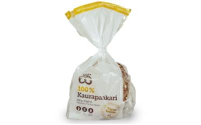 Pekan Leipä 100% kaurapaakari 4kpl/280g