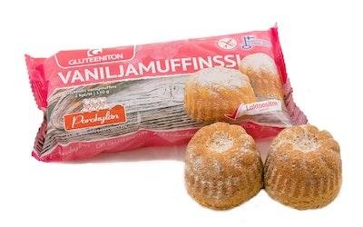 Porokylän Leipomo Vaniljamuffinssi 2kpl/130g gluteeniton