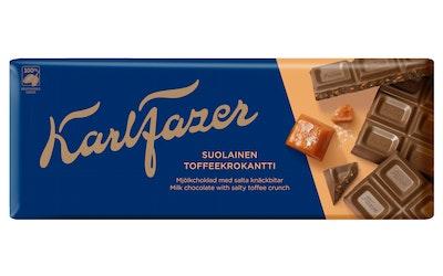 Fazer suklaa  200g suolaista toffeekroka