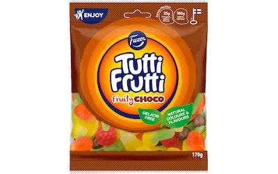 Tutti Frutti pussi 170g fruity choco