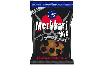 Merkkari Mix makeissekotus 180g