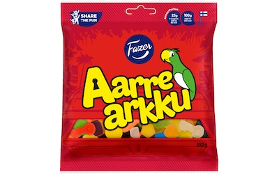 Aarrearkku makeispussi 280g