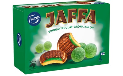 Fazer Jaffa Vihreät kuulat 300g keksi
