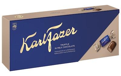 Karl Fazer maitosuklaatryffeli 270g suklaakonvehti - kuva