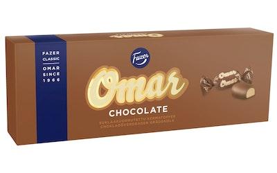 Omar kermatoffee 320g chocolate