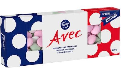 Avec ranskalaisia pastilleja 200g