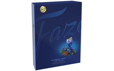 Karl Fazer one-twist 170g mustikka crisp