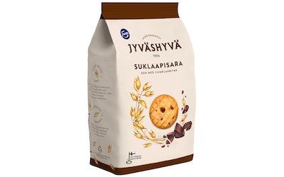 Jyväshyvä suklaapisara keksi 350g
