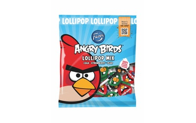 Fazer Angry Birds 120g hedelmätikkaripussi