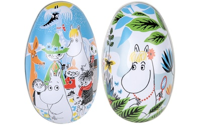Muumi kesäpäivä pääsiäismunat
