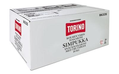 Torino kolmen värin simpukkamakaroni 10kg