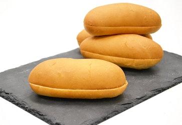 Rollfoods Amerikan hot dog sämpylä saranahalkaistu 60 x 55g 3,3kg pakaste