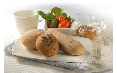 Rollfoods Gluteeniton sämpylälajitelma 24kpl 2,48kg yksittäispakattu pakaste