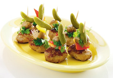 Rollfoods Delikatess Mini-frikadelli lihapyörykkä n. 165 x 12g 2kg pakaste