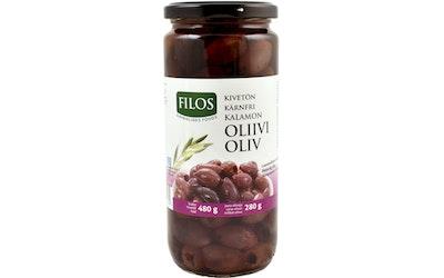 Filos kalamata oliivi 480/280g kivetön