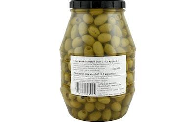 Filos jumbo kivetön vihreä oliivi 3/1,5 kg