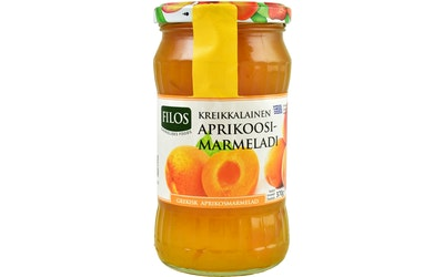 Filos kreikkalainen aprikosmarmelad 370g