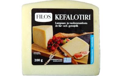 Filos kefalotiri -juusto 200g lampaan- ja vuohenmaidosta