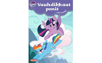 My Little Pony Puuhapakkaus Vauhdikkaat ponit