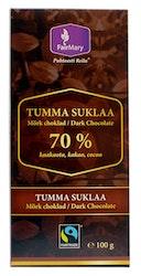 FairMary 100g Tumma suklaa 70 % reilu kauppa