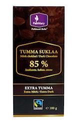 FairMary extra tummasuklaa 85%100g reilu