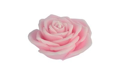 Finnmari ruusukynttilä vaaleanpunainen 15x15cm