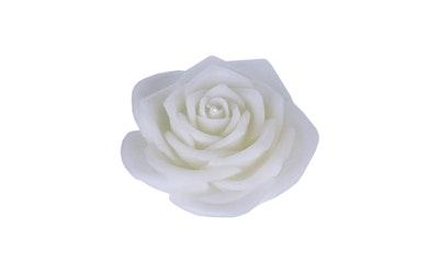 Finnmari ruusukynttilä valkoinen