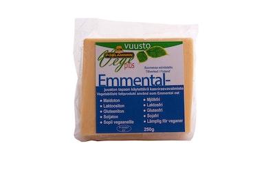 Vege plus Emmental kasvisrasvavalmiste 250 g