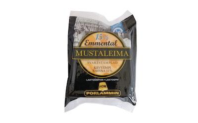 Porlammin 15 % Mustaleima emmental juusto 280 g
