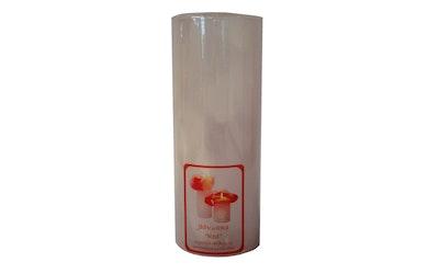 Jääkukka väriä vaihtava kynttilä 7x18cm 80h
