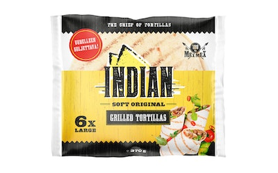 Indian Grilled Tortilla 370g Large 6kpl