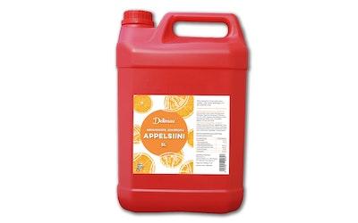 DeliMax Appelsiinimehutiiviste sokeroitu 5l 1+4