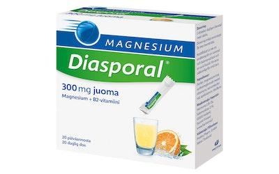 Diasporal magnesium 300 annospussi 20 kpl