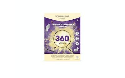 Voimaruoka 5x50g 360 vanilja superfood-sekoitus