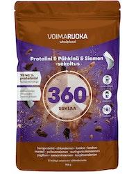 Voimaruoka 908g 360 suklaa superfood-sekoitus
