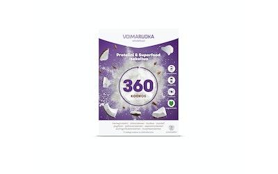 Voimaruoka 360 Wholefood 5x50g kookos