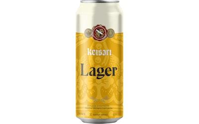 Keisari Premium Lager olut 4,5% 0,5l