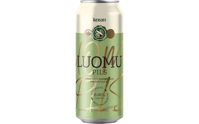 Keisari Luomu olut 4,5% 0,5l