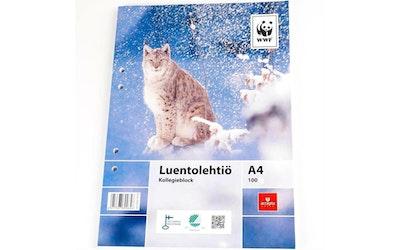 WWF Luentolehtiö A4
