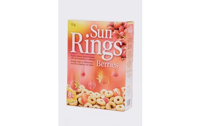 Sun Rings Berries 375g