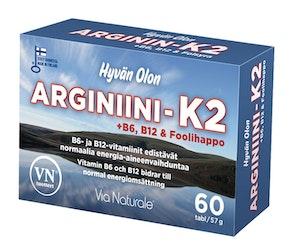 Hyvän Olon Arginiini-K2 60 tablettia