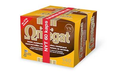 Omegat 3-6-7-9 ravintolisä säästöpakkaus 200kaps