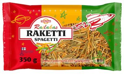 Myllyn Paras Railakas Raketti Spagetti 350 g